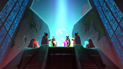 Protectors Recite Prophecy of Heroes Animation