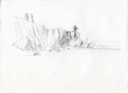 Base of Beach Cliffs - South