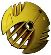 Golden Armor Shield