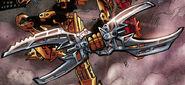 Comic Scarab Shield