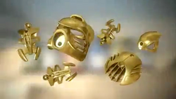 Animation Golden Armor