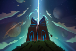 Temple of Time Exterior Animation