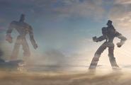 CGI Robot Showdown