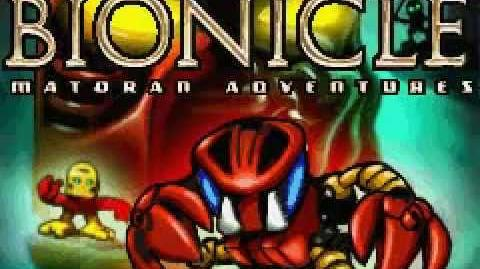 GameBoy Advance - Bionicle - Matoran Adventures Intro