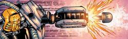 Comic Exo-Tahu Firing Electro-Rocket