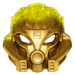Golden Uniter Mask of Stone