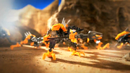 BIONICLE Battle Video 1 Rahkshi