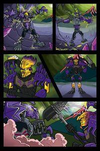 Komiks Bestii Wstrząsów