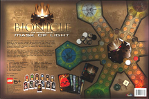 Mask of Light Board Game Back