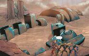 Comic Prototype Robot Mega-City