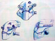 Concept Art Krekka Head