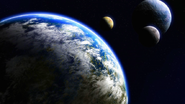 Galactic Universe Planets