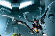 CGI Phantoka Makuta Chirox and Kirop