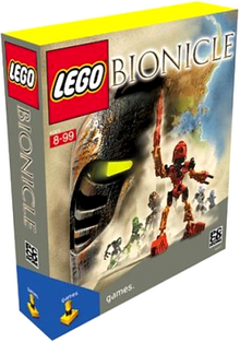 BIONICLE The Legend of Mata Nui Box Art