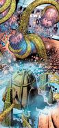Comic Morbuzakh Attacking Ga-Metru