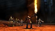 TLR Glatorian Ackar Flame Sword