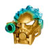 Golden Uniter Mask of Ice Pose