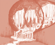 Concept Art Cavern of Fire