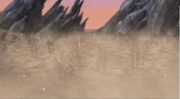 Skrall army run on desert