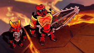 Tahu and Protector Stare Animation