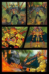 Komiks Bestii Lawy