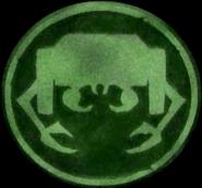Manas Carving Symbol