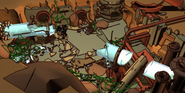 Animation Ruined Ta-Metru