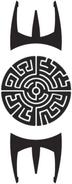 Symbol Tribe Rock