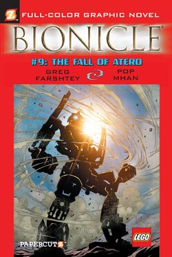 Graphic Novel 9 The Fall of Atero