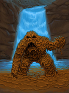 Concept Art Mud Monster