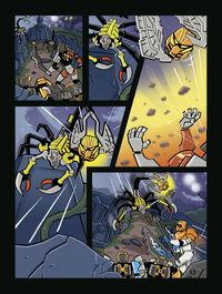 Komiks Skorpiona Śmierci