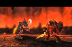 Strakk vs ackar battle