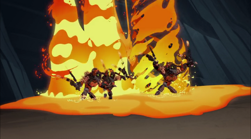 BJTO-Lava Beasts fire powers