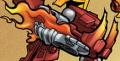 Comic Flame Claw