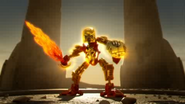 Animation Star Toa Mata Tahu with Golden Armor