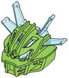 Axalara T9-Adapted Kanohi Miru Nuva