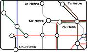 City Guide Chute Map