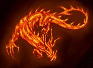 Concept Art Fire Monster