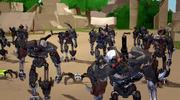 Skull Warriors Attack