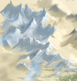 White Quartz Mountains