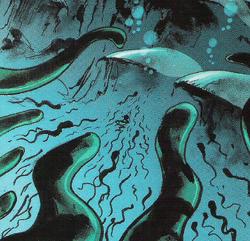 Venom Eels attacking Mahri Nui