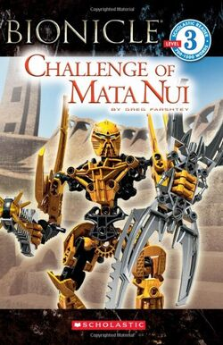 BIONICLE Young Reader Challenge of Mata Nui