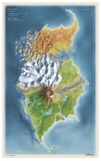 Concept Art Mata Nui Color Map