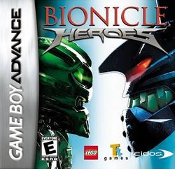 Boxart BIONICLE Heroes GBA