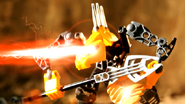 Battle Video Rahkshi Heat Vision in use