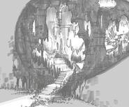 Concept Art Cavern of Rock