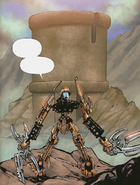 Comic Mata Nui in Valley of the Maze