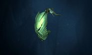 Animation Sea Squid Carrying Kanohi Ignika