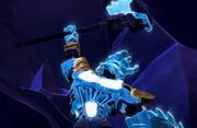 BJTO-Ekimu wielding his Crystal Hammer
