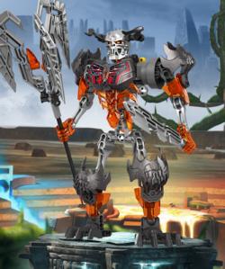 CGI Skull Grinder Pose